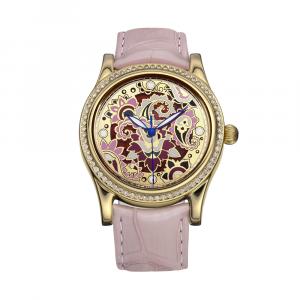 золотые женские наручные часы НИКА EXCLUSIVE 1100.1.4.86E