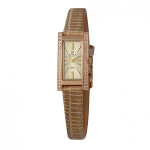 золотые женские часы LADY 0438.1.1.45H