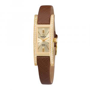 золотые женские часы LADY 0446.1.3.45H
