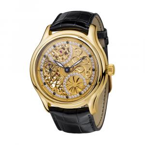 золотые мужские часы НИКА EXCLUSIVE 1102.0.3.58