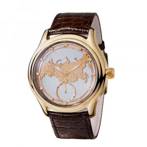 золотые мужские часы НИКА EXCLUSIVE 1102.1.3.74C