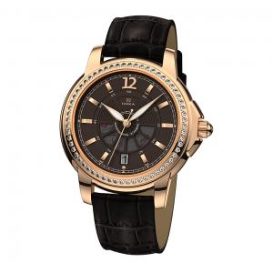 золотые мужские часы CELEBRITY 1068.1.1.64A