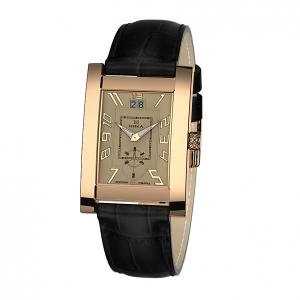 золотые мужские часы GENTLEMAN 1041.0.1.42H