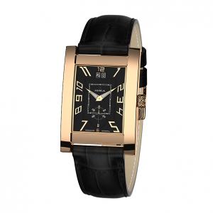 золотые мужские часы GENTLEMAN 1041.0.1.52H