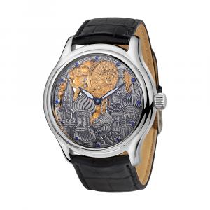 серебряные мужские часы НИКА EXCLUSIVE 1102.4.9.135A