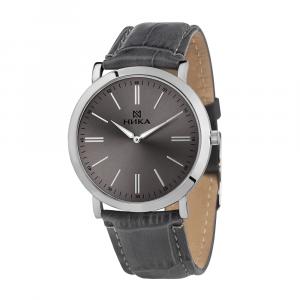 серебряные мужские часы Slimline 0100.0.9.75B