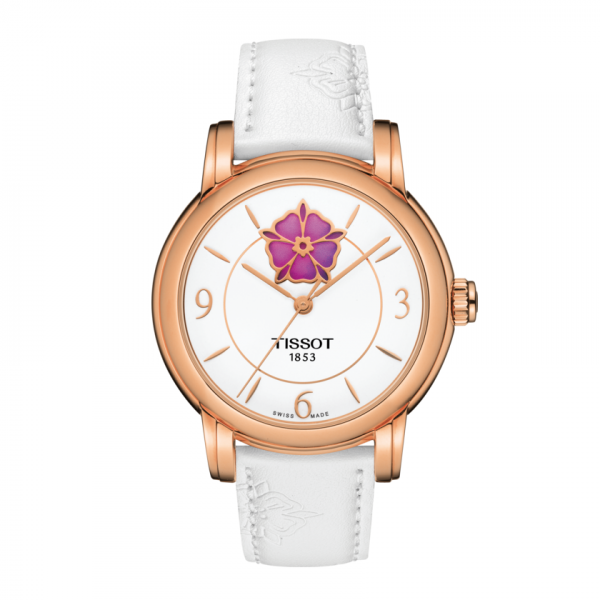 TISSOT LADY HEART FLOWER POWERMATIC 80 T050.207.37.017.05