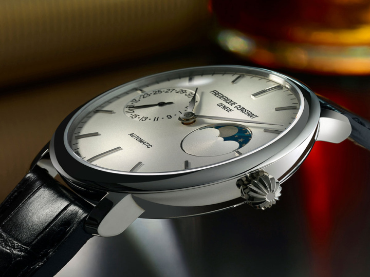 НОВИНКА 2017 SLIMLINE MOONPHASE MANUFACTURE