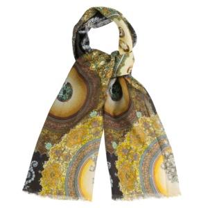 Женский шарф со стразами, вплетенными в восточный орнамент Dr.Koffer S810490-04-78 фото