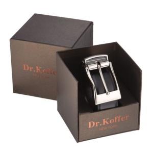 Кожаный ремень с массивной съемной пряжкой Dr.Koffer R022T01120-50-04 фото