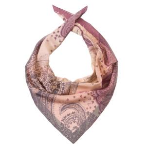 Легкий женский шарф из натурального шелка с принтом Dr.Koffer S810446-180-63 фото