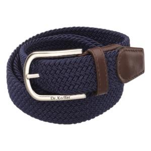 Стильный кожаный ремень с декоративным плетением Dr.Koffer R04001110-195-60 фото