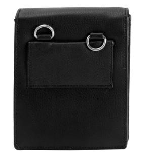 Черный кошелек со съемным ремнем Dr.Koffer X268061-01-04 фото