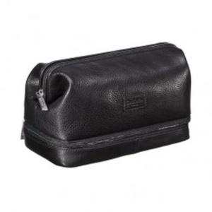 Черный несессер в стиле саквояж Dr.Koffer X280802-02-04 фото