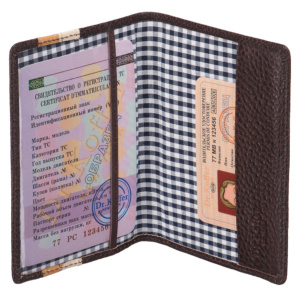 Dr.Koffer X510130-193-09 Обложка для паспорта фото
