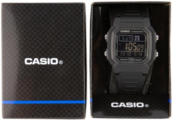 CASIO W800H-1BVES фото