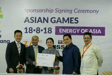TISSOT — Официальный хронометрист 18-х Азиатских игр