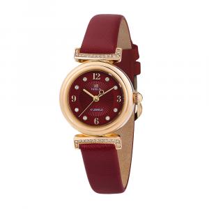 Золотые женские наручные часы CELEBRITY 1008.7.1.86A
