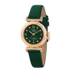 Золотые женские наручные часы CELEBRITY 1008.7.1.96A