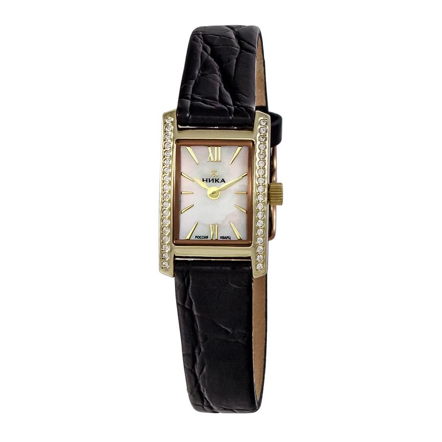 4d6d71e9b9372 Золотые женские наручные часы LADY 0450.2.3.35A | Kmv time