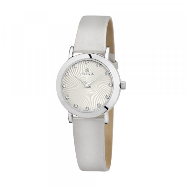 Серебряные женские наручные часы Slimline 0102.0.9.26A