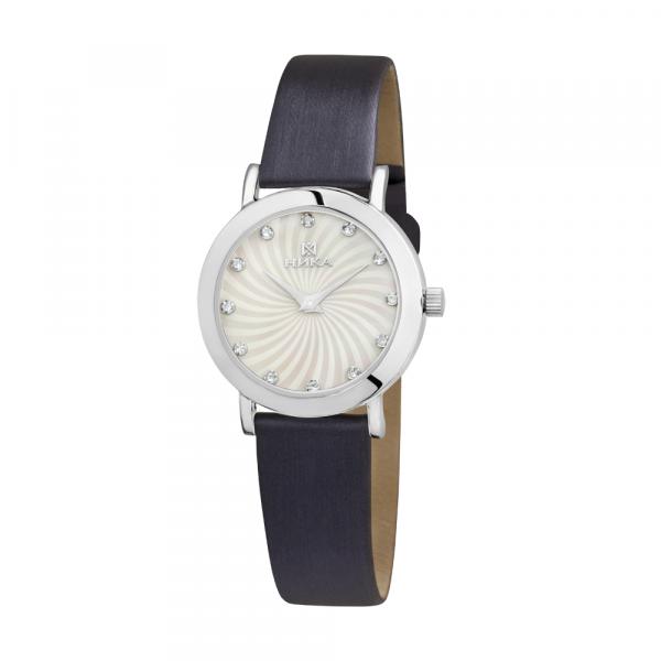 Серебряные женские наручные часы Slimline 0102.0.9.36A