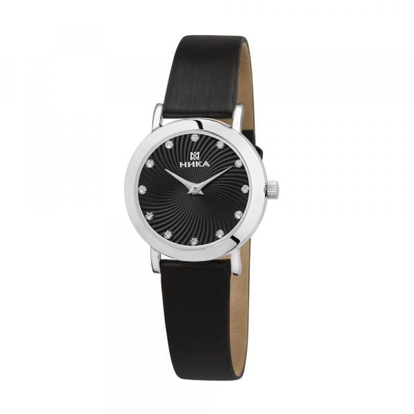 Серебряные женские наручные часы Slimline 0102.0.9.56B