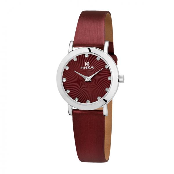 Серебряные женские наручные часы Slimline 0102.0.9.92A
