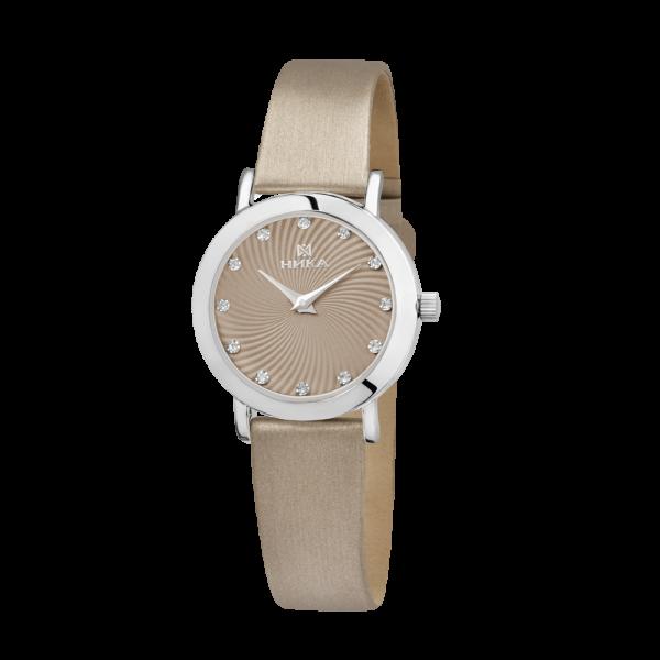Серебряные женские наручные часы Slimline 0102.0.9.91A