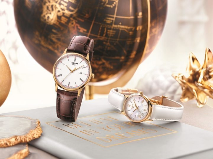 TISSOT Rose Dream Quartz Gold