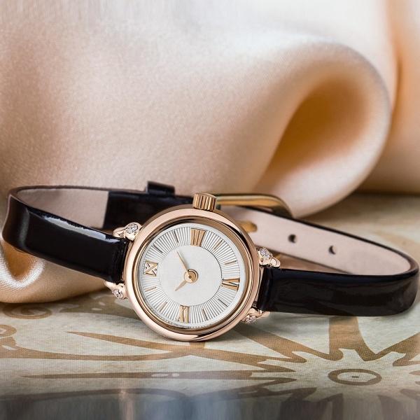 Золотые женские наручные часы VIVA 0311.2.1.53D