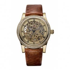 золотые женские наручные часы НИКА EXCLUSIVE 1100.1.4.92B