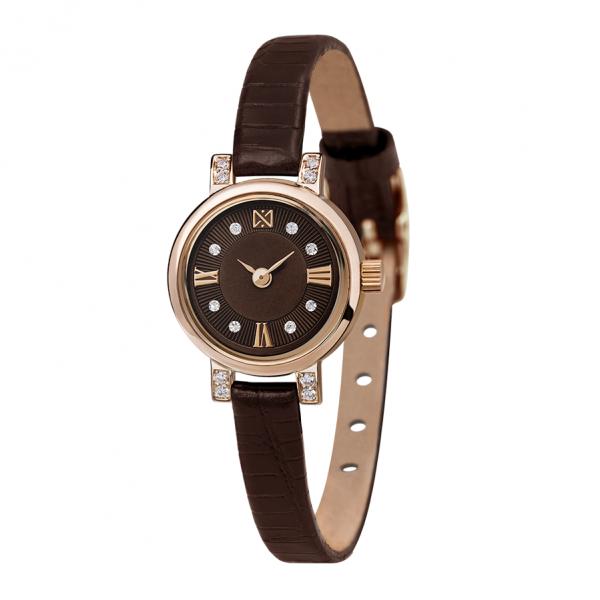 золотые женские наручные часы VIVA 0313.2.1.63B