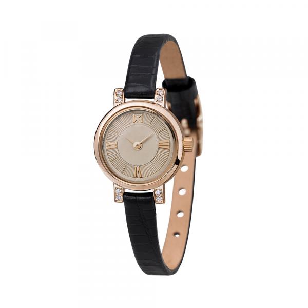золотые женские наручные часы VIVA 0313.2.1.83B