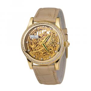 золотые женские часы НИКА EXCLUSIVE 1100.1.4.102