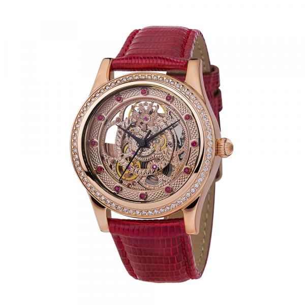 золотые женские часы НИКА EXCLUSIVE 1100.43.1.36A