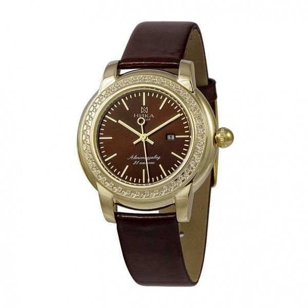 золотые женские часы CELEBRITY 1071.1.3.65A