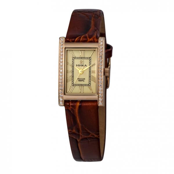 золотые женские часы LADY 0401.1.1.41H