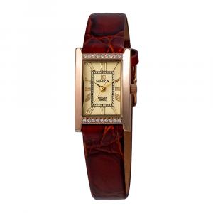 золотые женские часы LADY 0420.1.1.41H