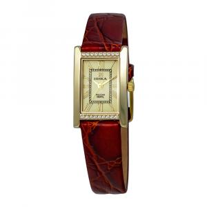 золотые женские часы LADY 0420.1.3.41H