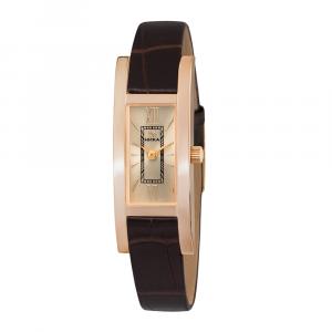 золотые женские часы LADY 0445.0.1.41H