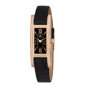 золотые женские часы LADY 0446.1.1.51H