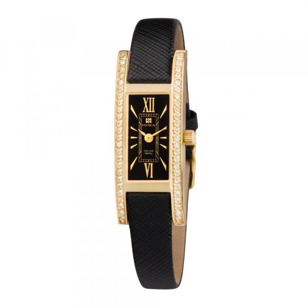 золотые женские часы LADY 0446.1.3.51H