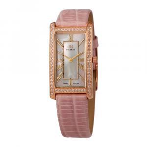 золотые женские часы LADY 0551.1.1.31H