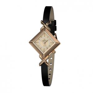 золотые женские часы VIVA 0908.0.1.46H
