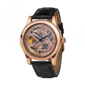 золотые мужские часы НИКА EXCLUSIVE 1100.8.1.132