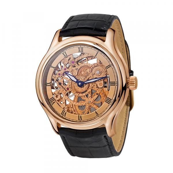 золотые мужские часы НИКА EXCLUSIVE 1102.0.1.92B