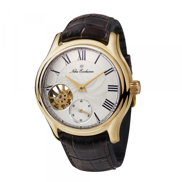 золотые мужские часы НИКА EXCLUSIVE 1102.0.3.128A