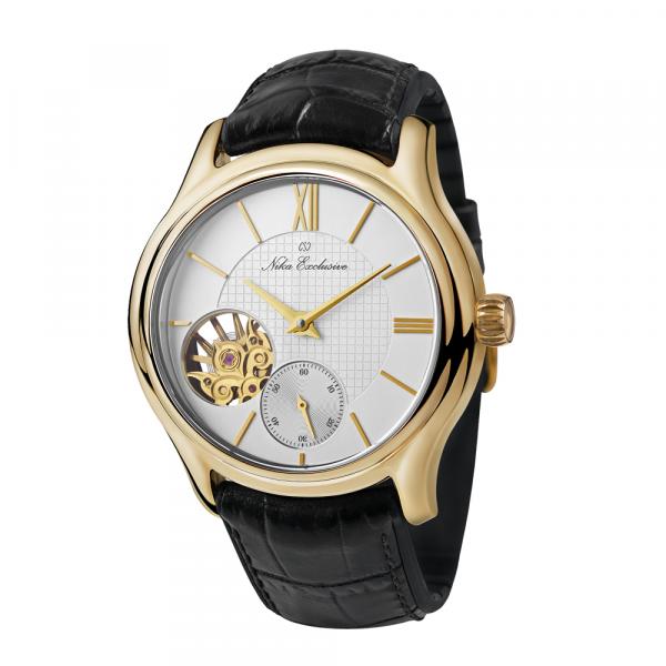 золотые мужские часы НИКА EXCLUSIVE 1102.0.3.129A