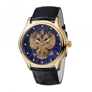 золотые мужские часы НИКА EXCLUSIVE 1102.1.3.72B